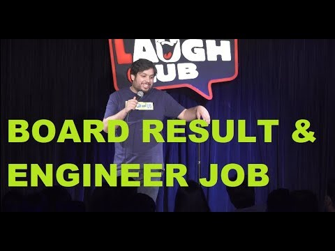 Board Result & Engineer Job | Stand-Up Comedy by Mayank Pandey