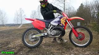 CR250 Cold Start and Ride