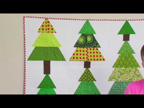 SNEAK PEEK! Sizzix Quilting: Totally Trees with Victoria Findlay Wolfe