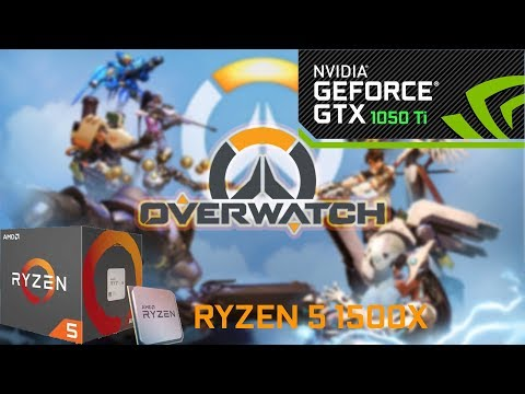 Overwatch: Ryzen 5 1400- GTX 1050 ti - 1080p - EPIC
