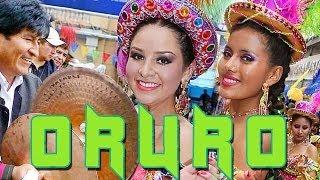 preview picture of video 'Carnaval de Oruro 2013, Caporales San Simon, Morenada Central, Diablada, Tobas, Banda Poopo'