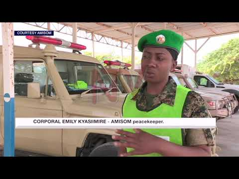 Spotlight on female AMISOM ambulance driver