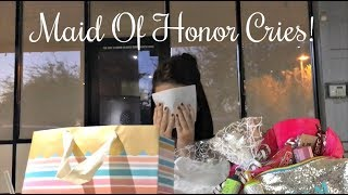WILL YOU BE MY MAID OF HONOR?! + GIFT IDEA!