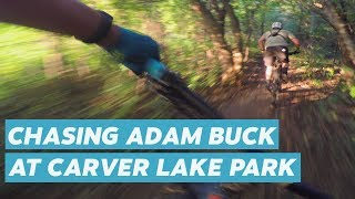 Riding Carver Lake Park