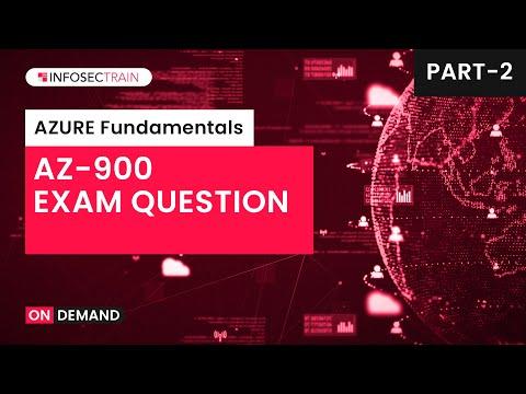Microsoft Azure Fundamentals Exam Preparation | AZ 900 ...