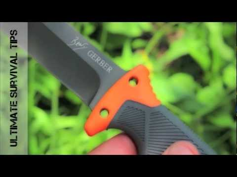 NEW – Gerber Bear Grylls Ultimate Survival Knife – Review – Best Survival Knife Under $50?