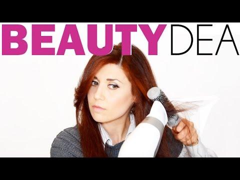 Piega capelli lisci con spazzola e phon Braun | Beautydea