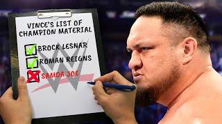 Reasons Why WWE Doesn't Want To Put The Championship  On Samoa Joe (Rise & Fall Of Samoa Joe)