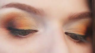 Смотреть онлайн Как сделать свадебный макияж для зеленых глаз