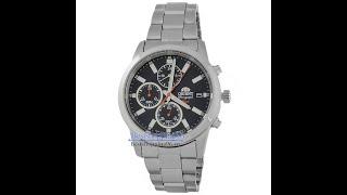 Видео обзор наручных часов с хронографом Orient FKU00002B0