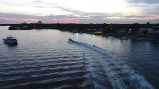 Майами Жестко упал Прикол Океан Катер яхта Флорида Америка смешное видео Яхта
