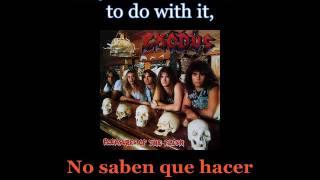Exodus - Chemi-Kill - Lyrics / Subtitulos en español (Nwobhm) Traducida