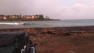Hurricane Douglas Very Small Storm Surge   KAUAI, HAWAII