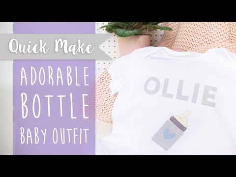 Create a Homemade Baby Outfit - Sizzix