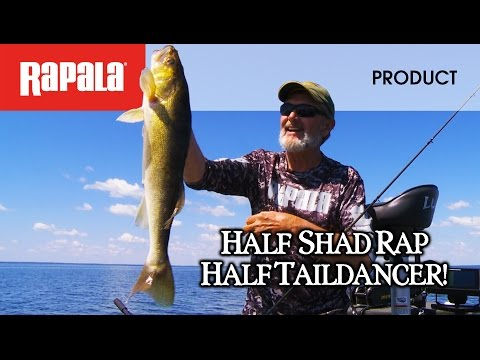 Воблер RAPALA SHAD DANCER SDD04-SFC фото №2