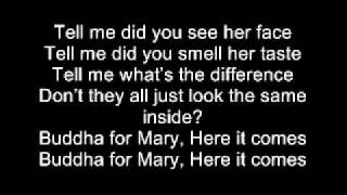 buddha for mary 30 seconds to mars lyrics