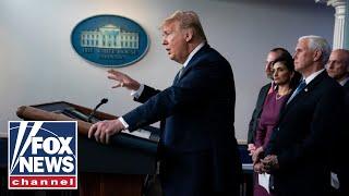AG Barr joins Trump, Coronavirus Task Force in coronavirus briefing