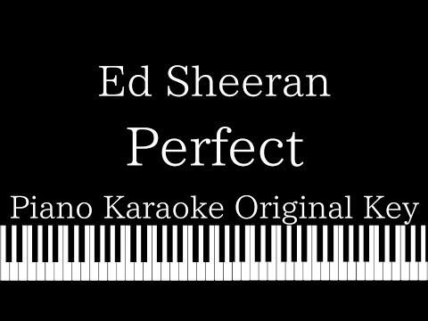 Download Perfect Ed Sheeran Karaoke Version Video 3GP Mp4 FLV HD Mp3