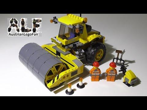Vidéo LEGO City 7746 : Le rouleau-compresseur