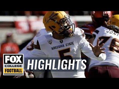 Arizona State vs Utah   HIGHLIGHTS   FOX COLLEGE FOOTBALL