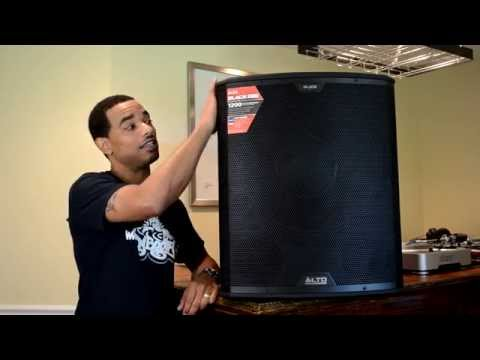 Alto Professional Black 18SUB 18S Powered Subwoofer Review Video
