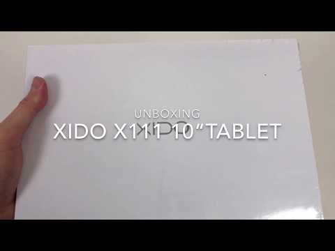 """Unboxing/Review XIDO X111 Tablet 10"""" Android 6 HD Auflösung"""