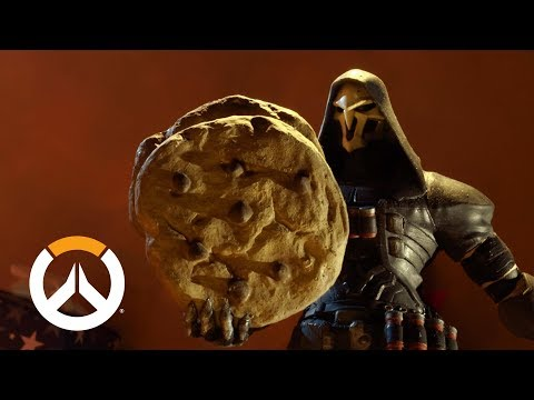 Reaper & Tracer Duke It Out for Santa's Christmas Cookies in New Overwatch Video