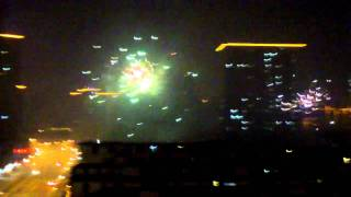 preview picture of video 'Shanghai New Year 2011 fireworks'