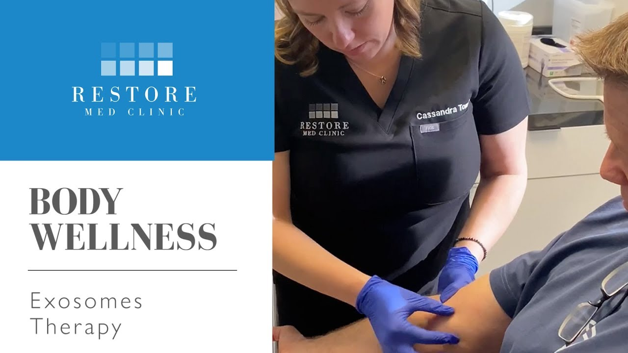 Exosomes Golf Knee & Elbow video