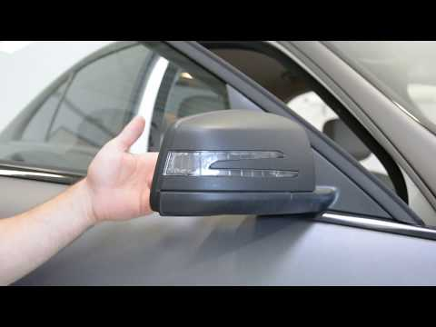 Mercedes Benz  C Class Mirror Cover Removal