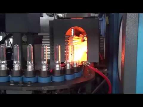 Automatic PET Bottle Blow Moulding Machine