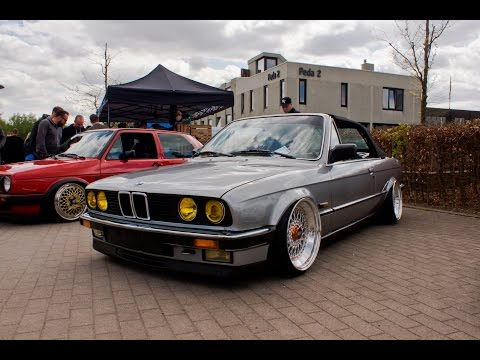 STANCED BMW E30 ON BBS RS WHEELS! (4K)