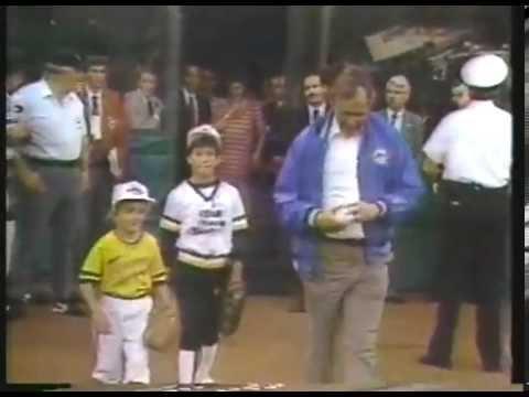 Marv Albert 1988 Interviews With Whitey Herzog, Jim Rice & George H. Bush - imasportsphile