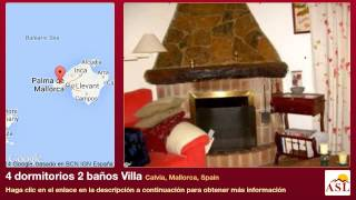 preview picture of video '4 dormitorios 2 baños Villa se Vende en Calvia, Mallorca, Spain'