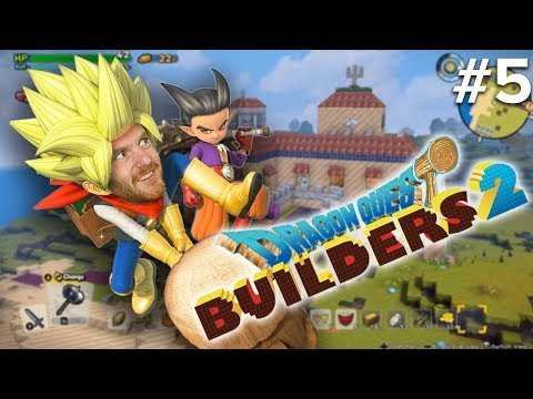 Dragon Quest Builders 2 Gameplay Part 5 - Let's Play Dragon Quest Builders 2
