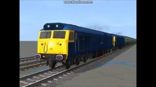 London, England Train Crash Remake