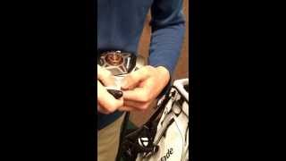 How to adjust a TaylorMade R1 Driver