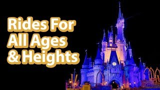 We Become Toddlers For The Day | Disney Worlds All Ages All Heights Rides