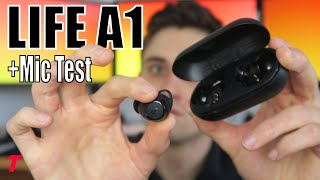 Anker Soundcore Life A1 Headphone Review -  Best Business Earphones? (Outdoor Microphone Test)