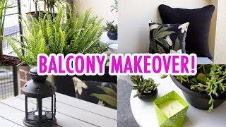 Julias Balcony Makeover! - HGTV Handmade