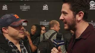 Geoff Johns Talks Titans