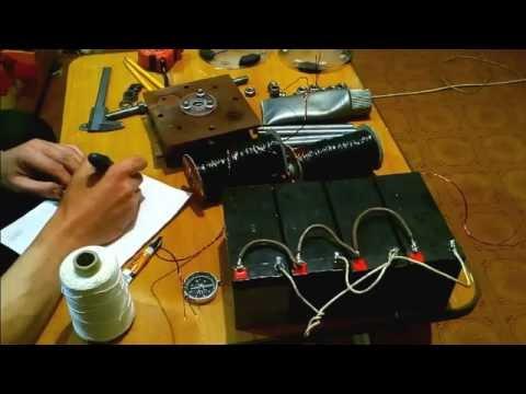 механический бедини компактный. изготовление