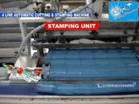 Automatic Soap Cutting & Stamping Machine