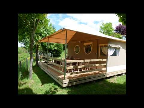 Lodge Pagan au camping l'Oasis