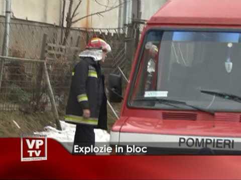 Explozie in bloc