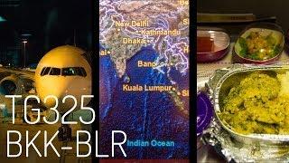 Thai Airways TG325 : Flying from Bangkok to Bengaluru