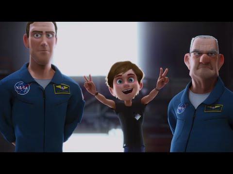 Animatiefilm 'Race naar de Maan' draait in De Meerpaal