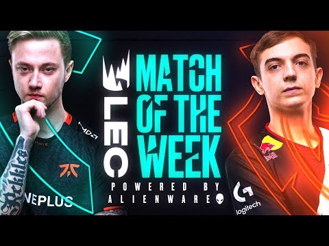 #LEC Match of the Week: Fnatic vs G2 Esports