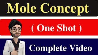 Mole Concept Ll Theory Ll Worksheet Ll