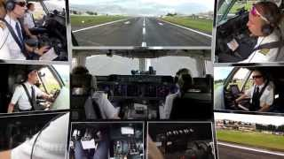 """PilotsEYE.tv - MD-11F - QUITO - """"ONE Approach - TEN cams"""""""
